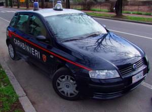 Immagine di archivio dei Carabinieri di Brugherio. Foto di Raffaele Centonze.