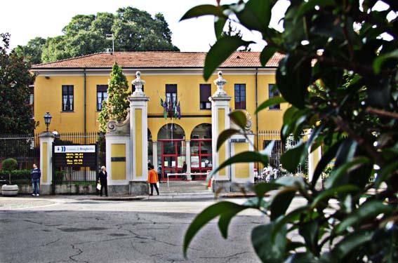 Il municipio di Brugherio