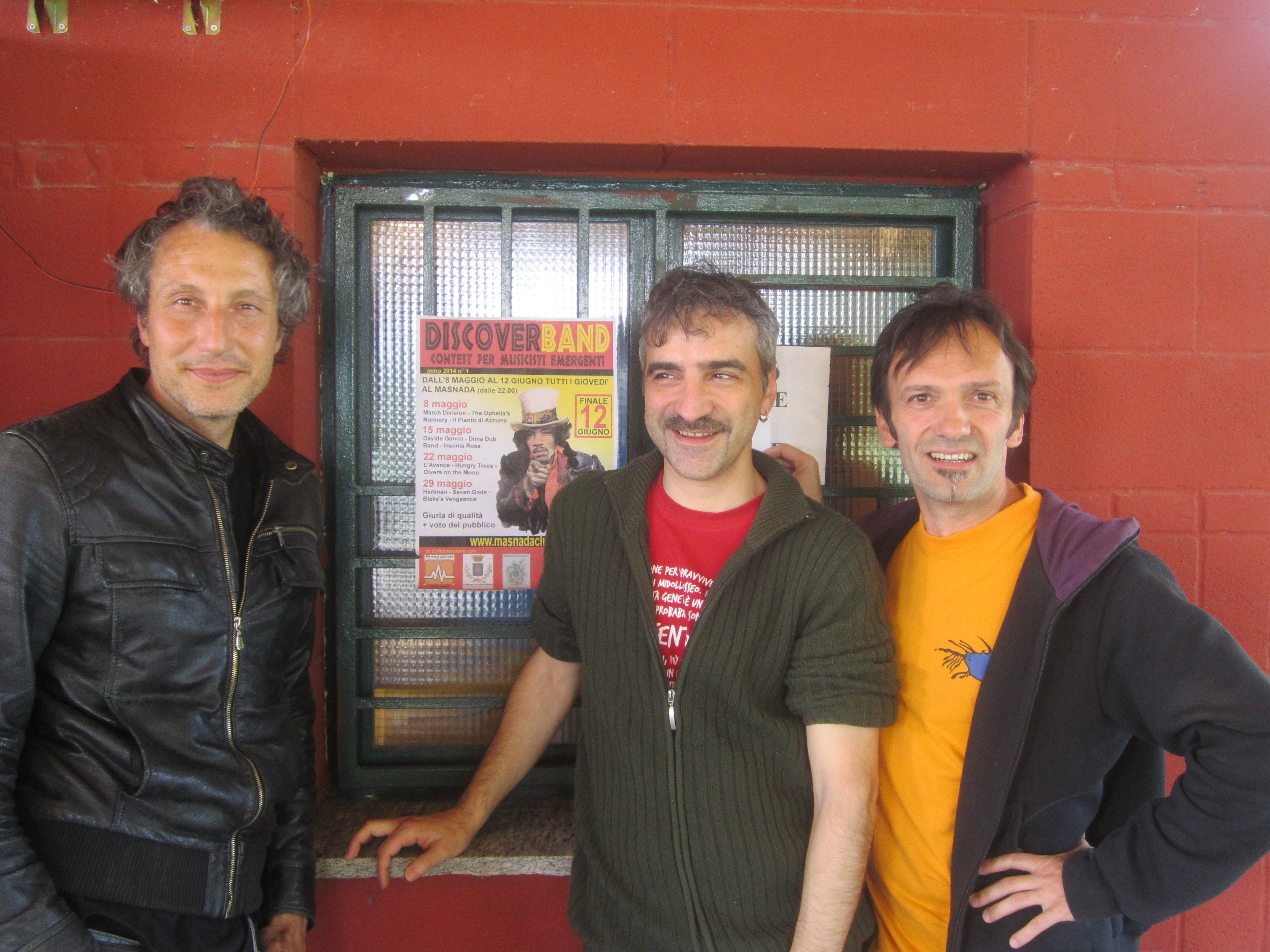 Da sinistra Pedro Fiamingo, Paolo Pessina e Marco Fossati
