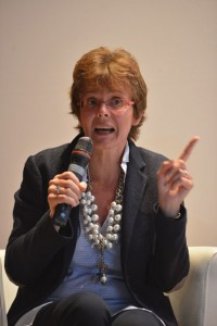 La senatrice a vita Elena Cattaneo