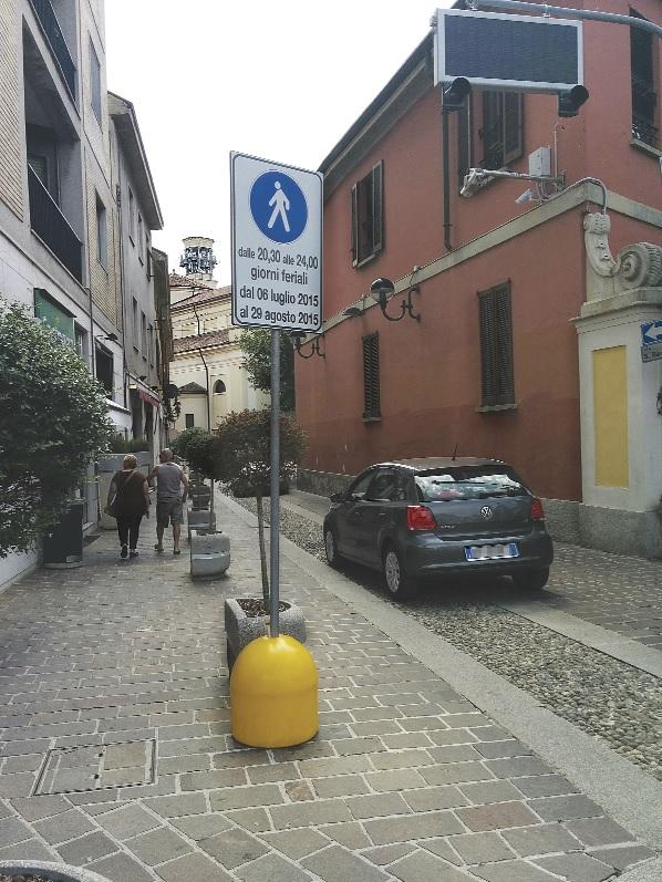 piazza roma chiusura