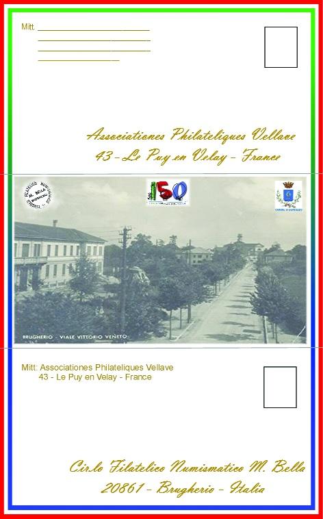 biglietto postale 150esimo