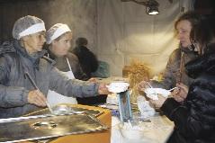 Domenica 11 la cuccia salata è offerta dagli amici di Resuttano Cuccia-resuttano