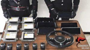 carabinieri furto ricettazione auto