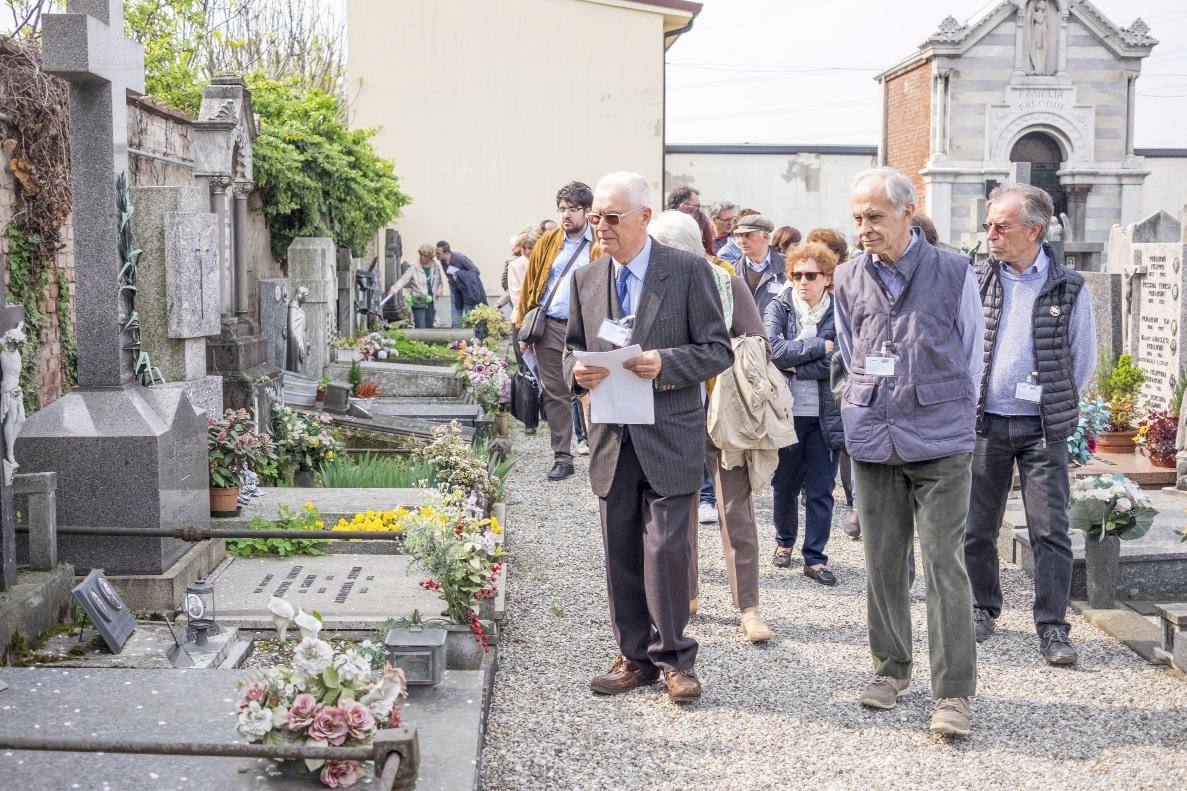 visita cimitero vecchio #conoscibrugherio