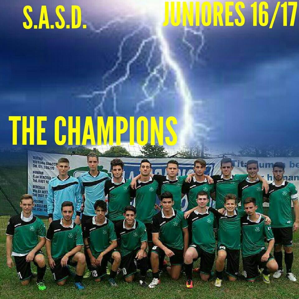 sasd juniores 2016 17