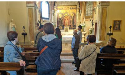 """Visita a Sant'ambrogio con """"Ville aperte"""" nel settembre 2019"""