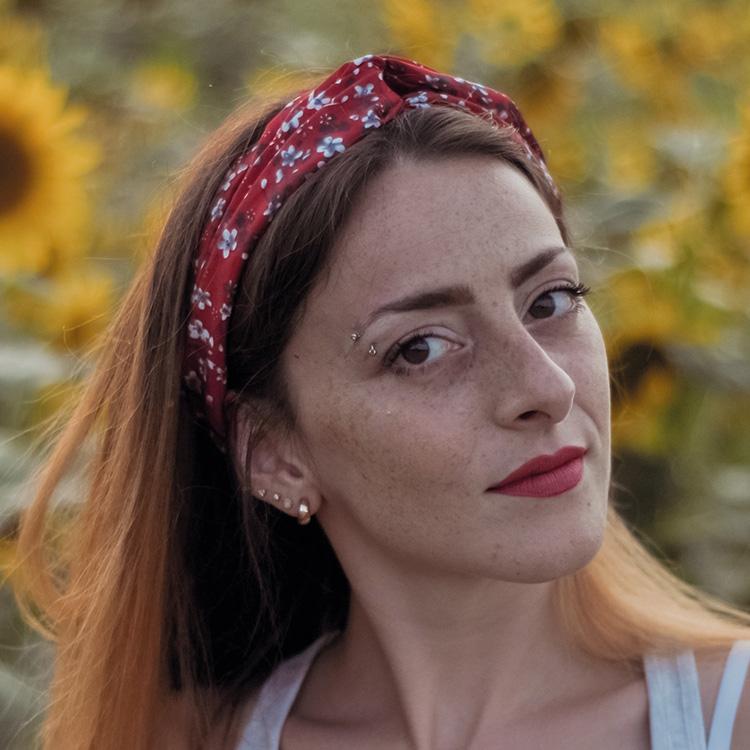 La fotografa Jahela Paglione